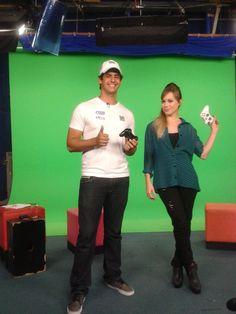 Piloto de jet ski Freeride Bruno Jacob em entrevista a Play TV, em São Paulo. Resultado de mídia da Bendita Imagem.