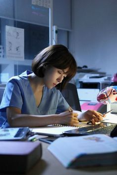 The island-hopping doctors of MBC's Hospital Ship Studying Girl, Student Studying, Romantic Doctor, Medical Quotes, Medical Wallpaper, Medicine Student, Study Pictures, Med Student, Student Motivation