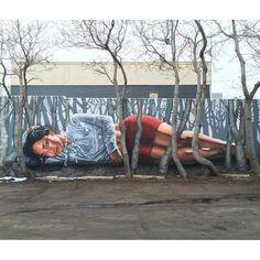 "Gamma Acosta, ""Little zerØ in slumberland"" in Denver, USA, 2016"
