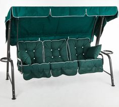 Swinging Hammock Archives - Outside Edge Metal Garden Furniture Cast Aluminum Patio Furniture, Metal Garden Furniture, Garden Hammock, Hammock Swing, Sun Lounger
