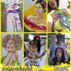 Motivos Personalizados 👕🎨PintaCarnavalera.  #Carnavart #Barranquilla #BarranquillaLovers #Curramba #Quilla #LaArenosa #ArteColombiano #Colombia #Colombian #Colombiarte #Artes #Arte #HechoAMano #HechoEnColombia #PintadoAMano #CamisasDeCarnaval #PintaCarnavalera #CamisasPersonalizadas #CarnavalDeBarranquilla #MadeInColombia #Marimonda #Marimondas #BarranquillaColombia #SomosCarnaval #quienloviveesquienlogoza Popular, Tags, Deco, Sombreros, Blouses, Custom Shirts, Carnivals, Culture, Hand Made