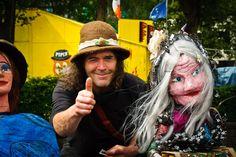 Puppeteer. Kinsale, Ireland