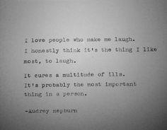 Vintage typewriter notecard- Audrey Hepburn on Etsy, $5.00