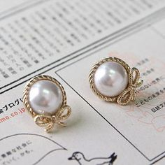 pearls and bows