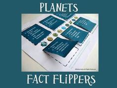 Here are 4+ fact flippers for your Solar System/Planets unit study. Students love hands-on activities! There are three flipper pages with planet facts. Students guess the planet, then lift the flap to check their answer. An additional blank planet fact flipper is provided for students to make their own (cut and paste) after learning all about the planets. Picture directions are provided.