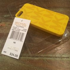 Michael Kors silicone phone cover iPhone 5 Phone cover never used! Michael Kors Accessories Phone Cases