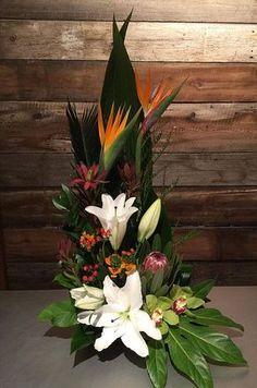 Selecting The Flower Arrangement For Church Weddings – Bridezilla Flowers Altar Flowers, Home Flowers, Church Flowers, Funeral Flowers, Exotic Flowers, Tropical Flowers, Purple Flowers, Silk Flowers, Easter Flower Arrangements