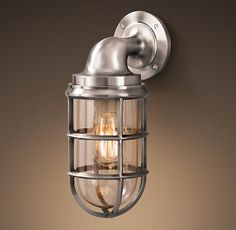 Starboard Sconce - consideration for bathroom