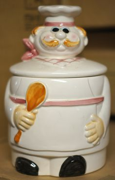 Image detail for -Chef Cookie Jar - Karen Cookie Jar