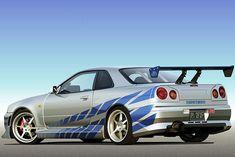 """Der japanische Mustang oder auch Nippon Porsche: Ab """"2 Fast 2 Furious"""" war das Höllengerät aus ..."""