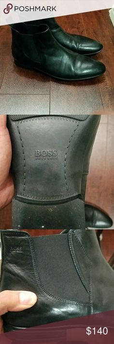 BOSS HUGO BOSS BOOTS Sleek modern,  brand new Hugo boss boots Hugo Boss Shoes Boots