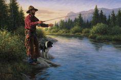 """Fish for Dinner"" by Robert Duncan"