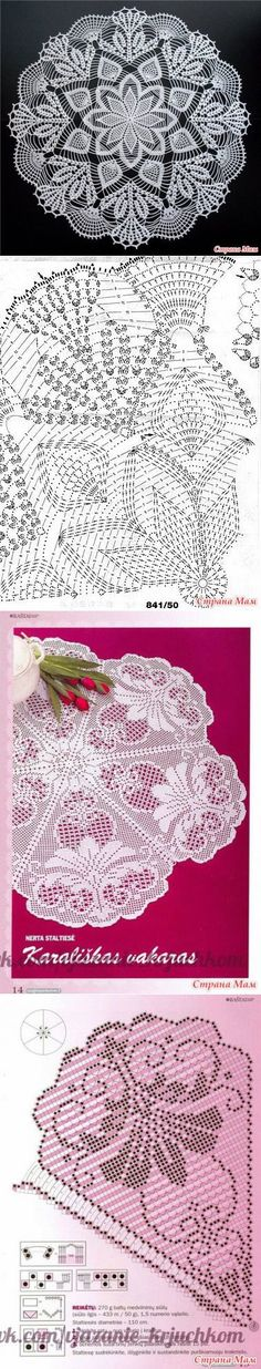 2. Beautiful napkins - Knitting - Country Mom