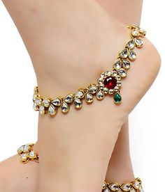 YAHPERN Anklets for Women Girls Color Beads Turquoise Drop Sequin Charm Adjustable Ankle Bracelets Set Boho Multilayer Beach Foot Jewelry (Gold) – Fine Jewelry & Collectibles Indian Wedding Jewelry, Indian Jewelry, Bridal Jewelry, Anklet Bracelet, Bracelets, Bridal Jewellery Inspiration, Anklet Designs, Ankle Jewelry, Ankle Chain