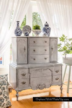Creating Layers (Grey Highboy)