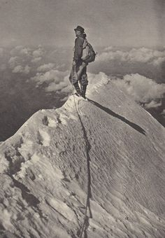 On the edge....