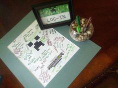 minecraft invitation ideas | Minecraft Birthday Party Ideas and Invitations!