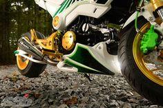 """Slice"" 2014 Honda Grom Honda Grom Custom, 2014 Honda Grom, Video New, Motorcycle Gear, Badass, Woman, Motorbikes"