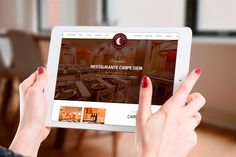 www.carpediemtoro.com Portal del restaurante #CarpeDiem de Toro diseñado por #sgmweb. Gestiona tus reservas y consigue información turística de Toro en un sólo click.