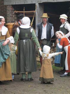 A gathering of some Tudor folk