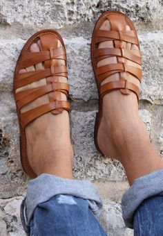 it - Men Sandals - Ideas of Men Sandals - Men Sandals Sandali uomo modello Tuscany. Cowboy Boots Women, Cowgirl Boots, Western Boots, Riding Boots, Leather Sandals, Shoes Sandals, Women Sandals, Timberland Style, Timberland Fashion