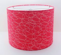 Hey, I found this really awesome Etsy listing at https://www.etsy.com/listing/122864601/red-lampshade-drum-shade-lamp-shade-home
