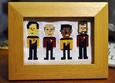Star Trek: TNG Cross Stitch - NEEDLEWORK - Knitting, sewing ...