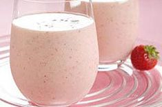 Low-Fat Strawberry-Banana Yogurt Smoothie.   Just tried it this morning and it's fantastic!!