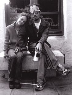 Johnny Depp & Vanessa Paradis by François Marie Banier, Los Angeles, January 2006
