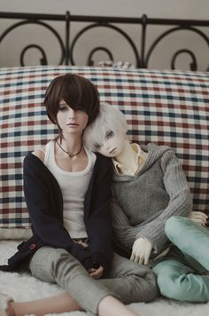"jojojorl: "" Keito & Iry by *三日月(micazuki)/담요(blanket)* on Flickr. """