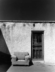 June Redford Van Cleef. La Silla Sola, on the Rio Grande River Bank