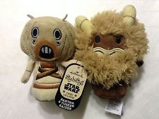 NEW~Tusken Raider&Bantha~SDCC/NYCC 2014 LE Hallmark Star Wars Itty Bittys/Bitty.  This pair are connected to each other via the Hallmark Itty Bittys tag.  Separating the two means removing the tag.
