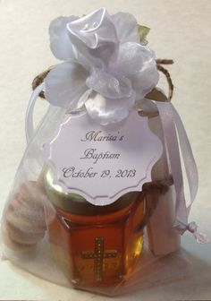 Honey is in mentioned in the Bible 61 times. First Holy Communion Favors For Girls and Boys by holyhoney, $4.50 With Biblical Honey Info Scroll.