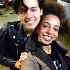 "When Hayley wished Cole a happy birthday with this sweet pic. | 27 Times The ""Riverdale"" Cast Were Completely Adorable IRL"