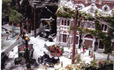 Unique Home Decorating Ideas for the Christmas Holiday – Get Ready for Christmas Christmas Village Display, Christmas Village Houses, Christmas Town, Christmas Villages, Christmas Holidays, Christmas Crafts, Christmas Decorations, Holiday Decorating, Inflatable Christmas Tree