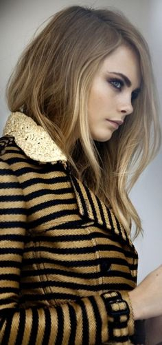Cara Delevingne for Burberry Spring / Summer 20120