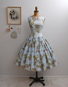 Vintage 50s Dress - The Eva - on Etsy, $208.00