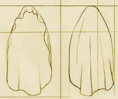 Medieval Clothing and Footwear- Linen Rectangular and Oval Veils