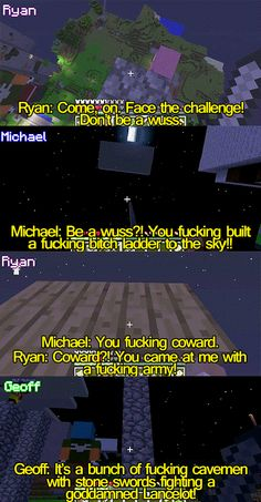 Lol I loved this episode. I think Ryan and Michael argue more than Gavin and Michael