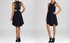 BCBGeneration Dress - Lace Trim
