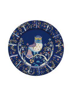 Taika Porcelain Dinner Plate from A Fete of Plates: Dinnerware & More on Gilt