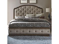 Shop for Liberty Furniture Queen Upholstered Bed, and other Bedroom Upholstered Beds at Howell Furniture in Beaumont and Nederland, TX and Lake Charles, LA. Bedroom Sets, Living Room Bedroom, Bedroom Furniture, Furniture Mattress, Master Bedroom, Bedrooms, Furniture Cleaning, Queen Bedroom, Furniture Removal