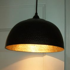 Ikea pendant lamp made out of Angenam bowl