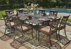 Light Cast Aluminum Patio Furniture Iron Garden Outdoor