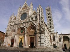 Siena Cathedral, Siena, Italy.