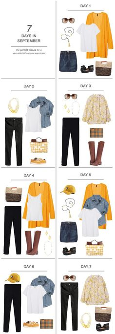 7 Days in September : The Perfect Pieces for a Versatile Fall Capsule Wardrobe Kiss My Tulle : 7 Days in September : The Perfect Pieces for a Versatile Fall Capsule Wardrobe ootd September fall capsulewardrobe sahm Days September Perfect Capsule Wardrobe Mom, Wardrobe Sets, Fall Wardrobe, Office Wardrobe, Outfits Otoño, Capsule Outfits, Fall Outfits, Minimalist Wardrobe, Fall Dresses