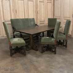 Spanish Solid Walnut Dining Table, Www.inessa.com · Antique Dining  RoomsDining ...