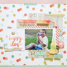 Oh Happy Day **Simple Stories DT** - Scrapbook.com