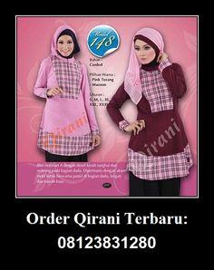 Qirani Blouse Model 148, Hubungi : HUBUNGI :  Whatsapp : +62 812-3831-280  SMS : +62 812-3831-280 BBM : 5F03DE1D