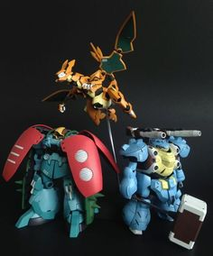 Pokemon Gen 1 Starters Meets Gundam - Gundam Kits Collection News and Reviews